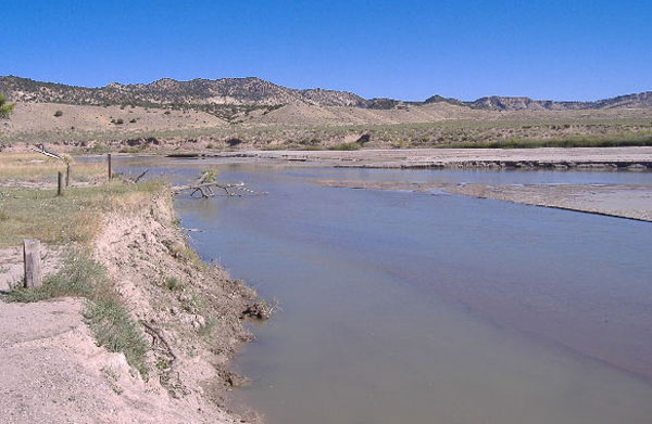 Usgs current conditions for usgs 09260050 yampa river at for Yampa river fishing report