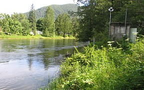 Moyie River near Eastport, ID - USGS file photo