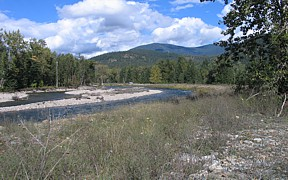 Lightning Creek at Clark Fork, ID - USGS file photo