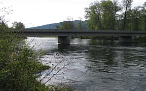 St. Joe River at Calder, ID - USGS file photo