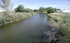 SF Teton River near Rexbury, ID - USGS file photo