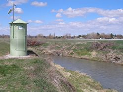Blackfoot Riverbelow North Canal at Blackfoot, ID - USGS file photo