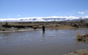 Raft River near Malta, ID - USGS file photo