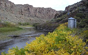 Salmon Falls Creek near San Jacinto, NV - USGS file photo