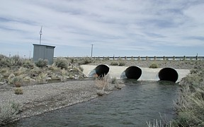 Big Lost River at Lincoln Boulevard bridge near Atomic City, ID - USGS file photo