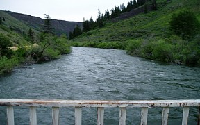 SF Boise River below Anderson Ranch Dam, ID - USGS file photo