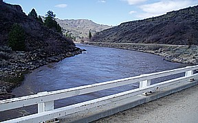 Mores Creek above Robie Creek near Arrowrock Dam, ID - USGS file photo