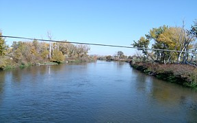 Boise River near Parma, ID - USGS file photo