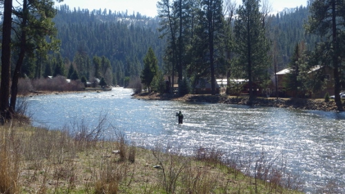 SF Payette River at Lowman, ID - USGS file photo