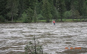 Selway River near Lowell, ID - USGS file photo - high flows May 2008