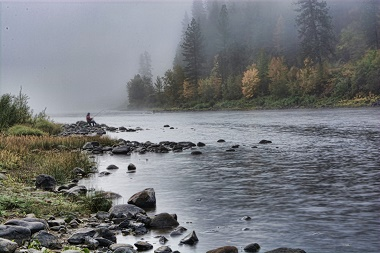 Clearwater River at Orofino, ID - USGS file photo