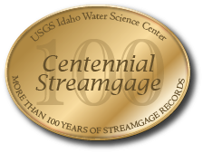 USGS Idaho Water Science Center celebrating more than 100 Years of streamgage Records