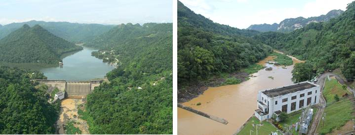 Image of Lago Dos Bocas at Damsite near Utuado